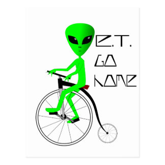 ET Go Home! Postcard