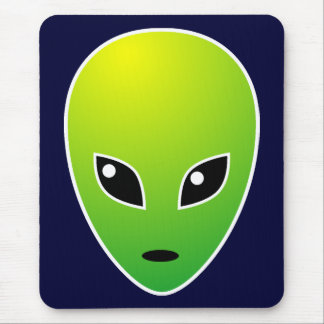 ET - on Dark Blue - Customized Mouse Pad