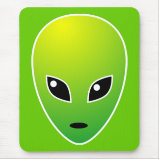 ET - on Green - Customized Mouse Pad