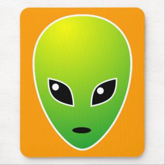 ET - on Orange - Customized Mouse Pad