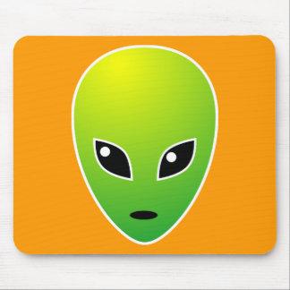 ET - on Orange Mouse Pad