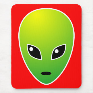 ET - on Red - Customized Mouse Pad