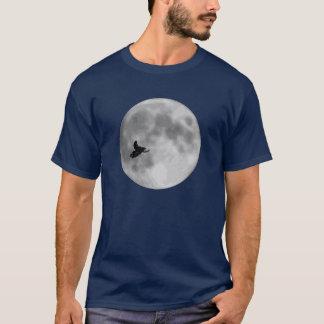 """ET"" Sled and Moon Navy Blue Sledders.com T-Shirt"