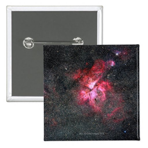 Eta Carina Nebula Button