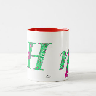 ETA Two-Tone COFFEE MUG