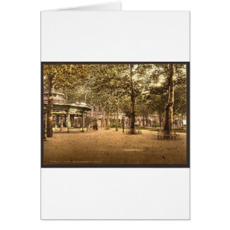 Etablissment Thermal, Vichy, France Card
