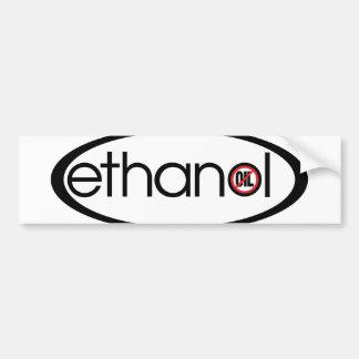 Etanol - ningún aceite pegatina para auto