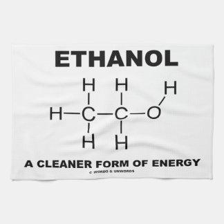 Etanol una forma de energía más limpia (molécula) toallas