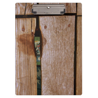 Etant Donné - Homage to Duchamp - Wood Clipboard