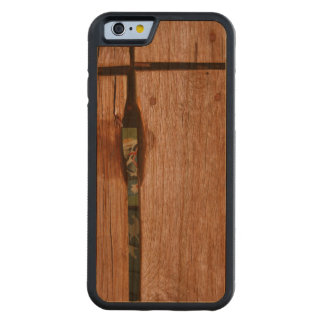 Etant Donné - homenaje a Duchamp - caso de madera Funda De iPhone 6 Bumper Cerezo