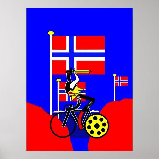 Etapa 17 - Noruega va loca Poster