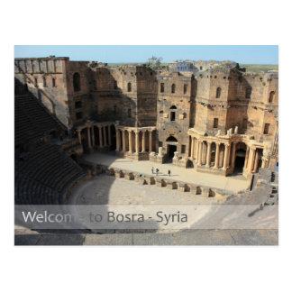 Etapa romana Bosra, Siria del teatro Tarjeta Postal