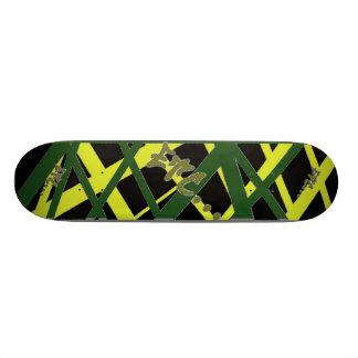 etc... Style Jamaica Web Skateboard Deck