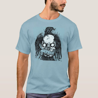 Etcetera Eagle and Skull T-Shirt