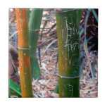 Etched Bamboo Tile