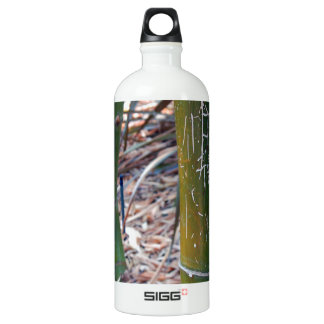 Etched Bamboo Water Bottle