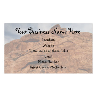 Etched by Time Double-Sided Standard Business Cards (Pack Of 100)