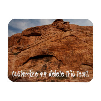 Etched by Time; Customizable Magnet