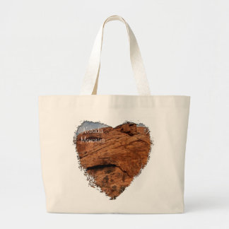 Etched by Time; Nevada Souvenir Tote Bags