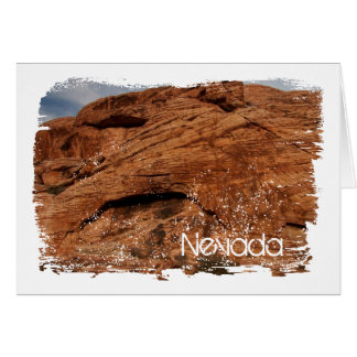 Etched by Time; Nevada Souvenir Card
