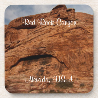 Etched by Time; Nevada Souvenir Drink Coaster