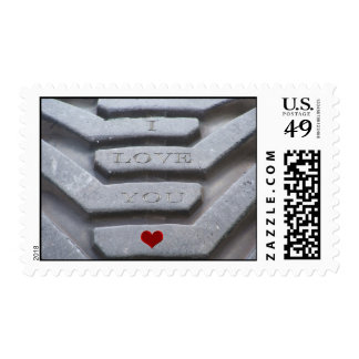Etched in Stone Postage