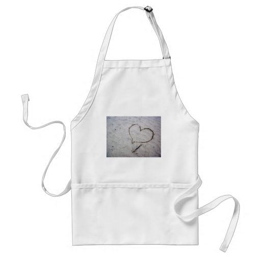 Etched Love Aprons
