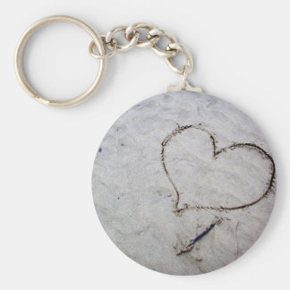 Etched Love Keychain