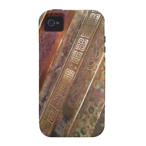 Etched Metal Case iPhone 4/4S Covers