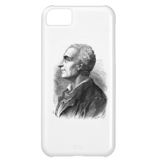 Etched Portrait of Montesquieu by Emile Bayard iPhone 5C Cases