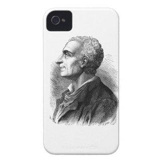 Etched Portrait of Montesquieu by Emile Bayard Blackberry Cases
