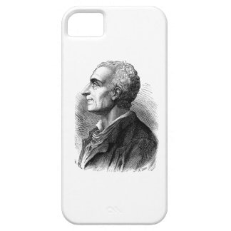 Etched Portrait of Montesquieu by Emile Bayard iPhone 5 Cover