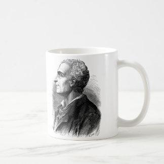 Etched Portrait of Montesquieu by Emile Bayard Coffee Mug