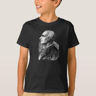 Etched Portrait of Montesquieu by Emile Bayard T-Shirt