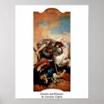 Eteocles y Polynices de Juan Tiepolo Impresiones