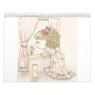eterietten girl MANGA Calendar