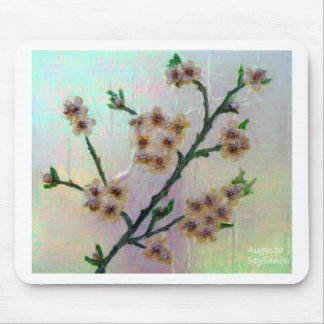 Eternal Almond Flowers Mouse Pad