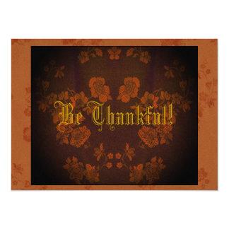 Eternal Autumn Southern Pecan & American Beech Card