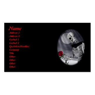 Eternal Beauty Profile Card Business Card
