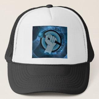 Eternal Blue Gyre Trucker Hat