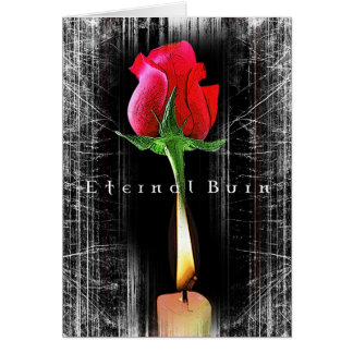 Eternal Burn Greetings Cards