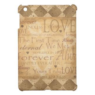 Eternal Endless Love Forever Love - Always iPad Mini Covers