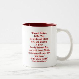 Eternal Father, I offer You.... Two-Tone Coffee Mug