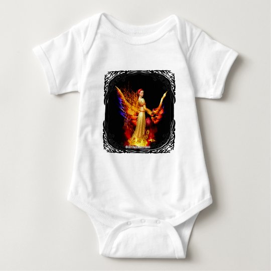 Eternal Flame Baby Bodysuit