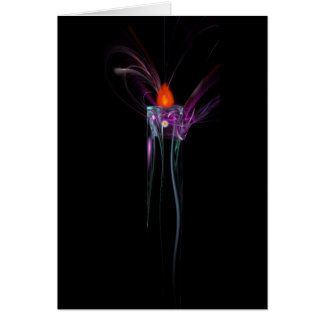 Eternal Flame Greeting and Note Card