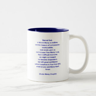 Eternal God in Whom Mercy is Endless... Two-Tone Coffee Mug