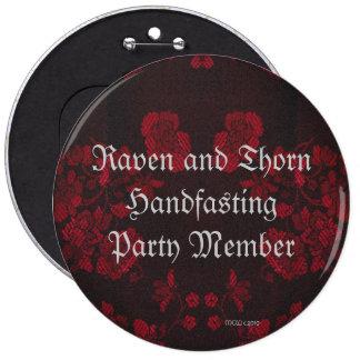 Eternal Handfasting/Wedding Suite 6 Inch Round Button