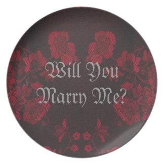 Eternal Handfasting/Wedding Suite Dinner Plate