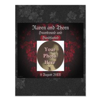 "Eternal Handfasting/Wedding Suite 4.25"" X 5.5"" Invitation Card"