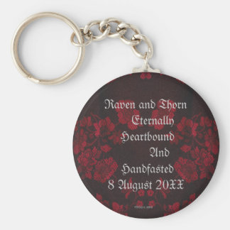 Eternal Handfasting/Wedding Suite Basic Round Button Keychain